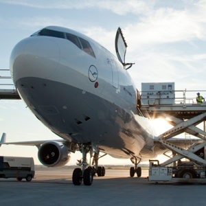 Mobile Easykey Lufthansa Cargo Job Report