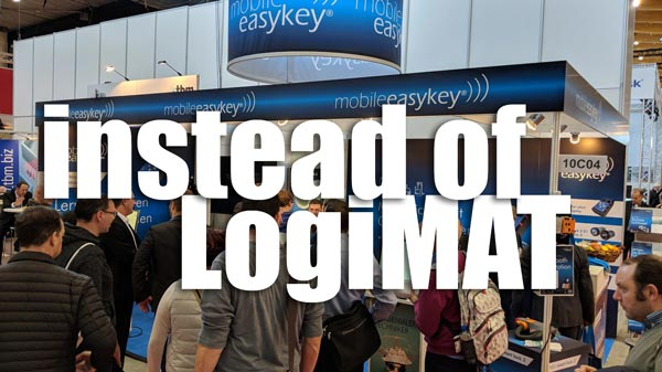Mobile Easykey instead of LogiMAT