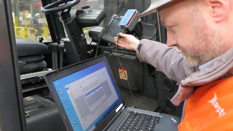 Mobile Easykey Job Report Saarstahl